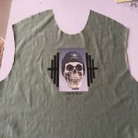 Men's T-shirt hot stamping