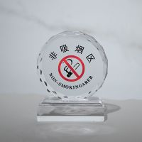 Crystal trophy medal customized graduation party photo group photo souvenir decoration