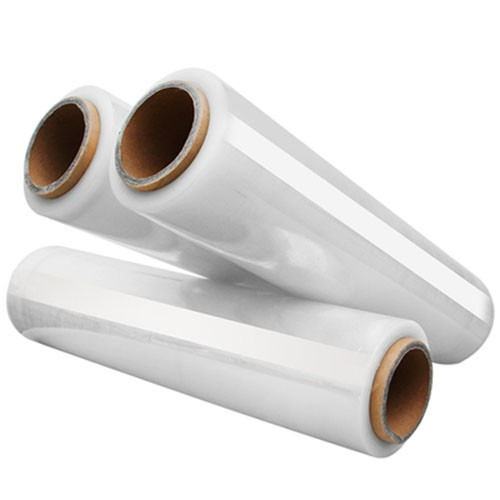 50CM wide plastic film stretch film winding film large roll PE industrial plastic wrap packaging fil
