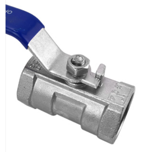 Stainless steel ball valve One piece ball valve Threaded internal thread valve Switch water pipe