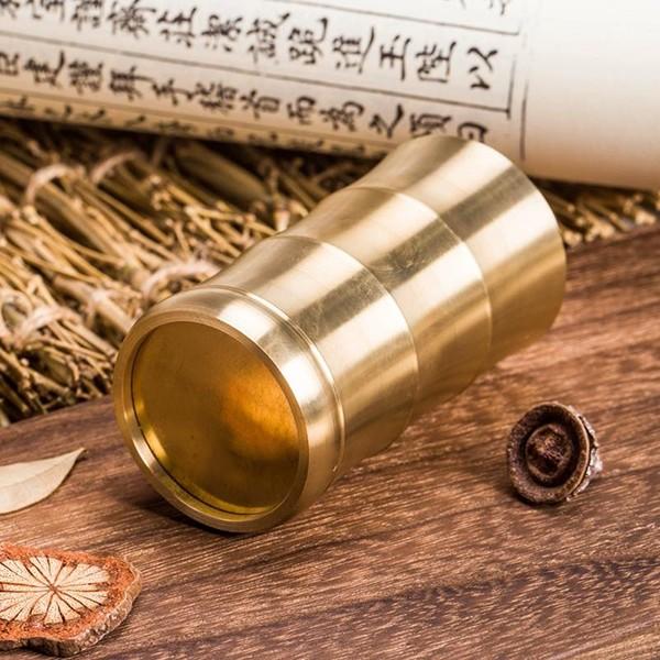 النحاس النقي الخيزران البخور زجاجة ، حامل القلم ، والشاي البخور اللوازم والأدوات