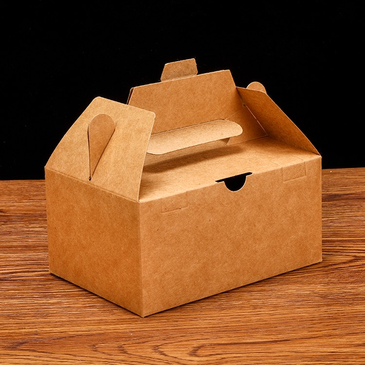 صنع وفقا لطلب الزّبون كرافت ورق تغليف المواد الغذائية كعكة الخبز مربع