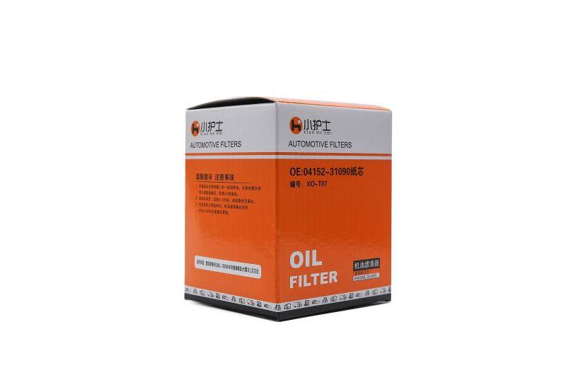 Automotive oil Filter Highlanda 04152-31090 Prudhoe Camry oil filter element