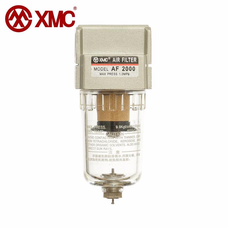 XMC AL2000-02 G1/4 air source processing unit Compressed air filter regulator pneumatic lubricator