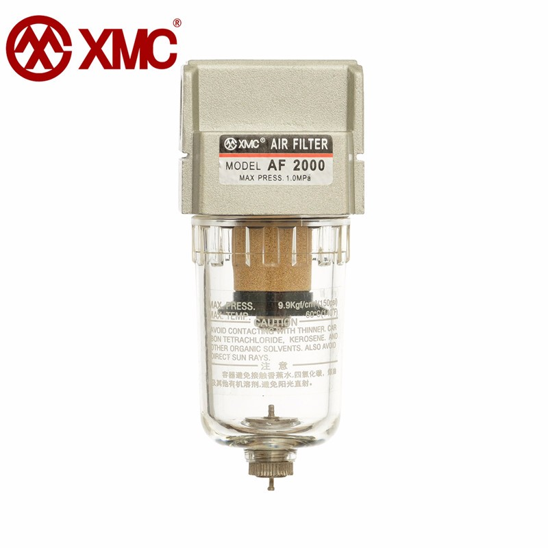 XMC AF2000-02 Pneumatic filter for filter moisture separator pressure regulator oil-water separator