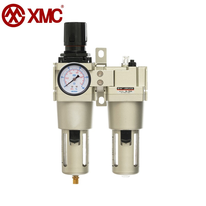 XMC AC5010-10 air pressure regulator oil-water FRL dual treatment separator trap filter