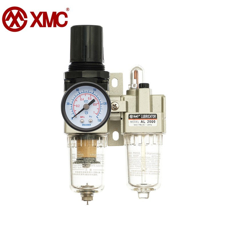 XMC AC2010-02 Air pressure regulator separator, air compressor, air pump filter, two-piece regulator