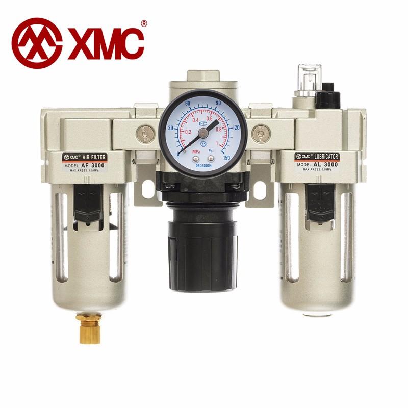 XMC AC3000-03 Pneumatic filter Air treatment unit Pressure regulator compressor pressure reducing va