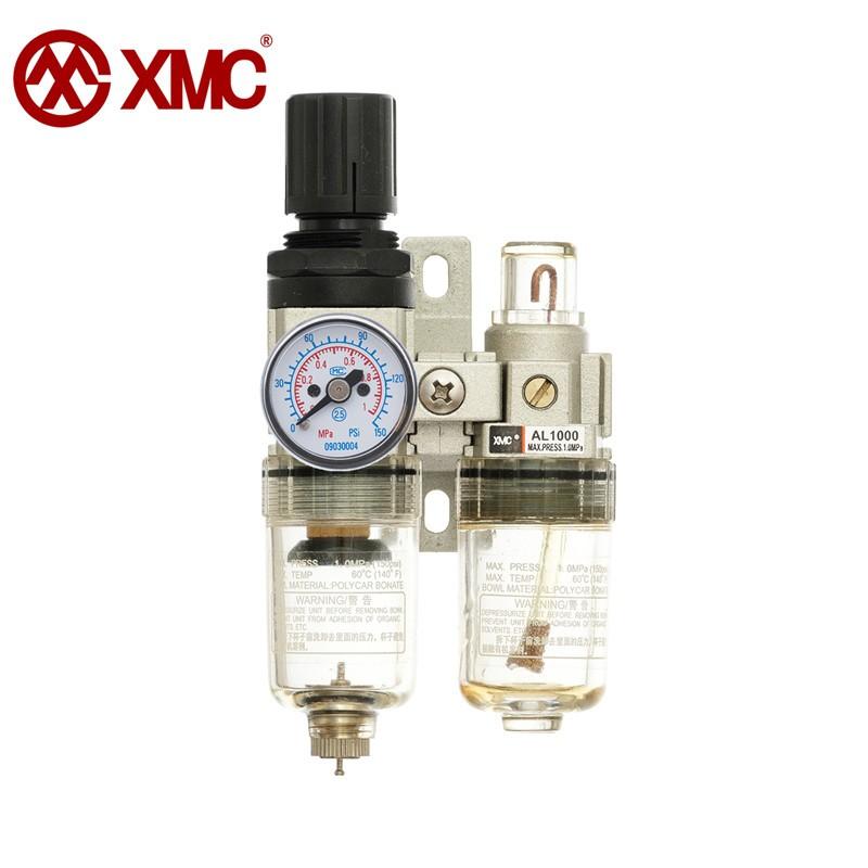 XMC AC1010-M5 MINI pneumatic F.R.L unit Air filter pressure relief regulator group and oil lubricato