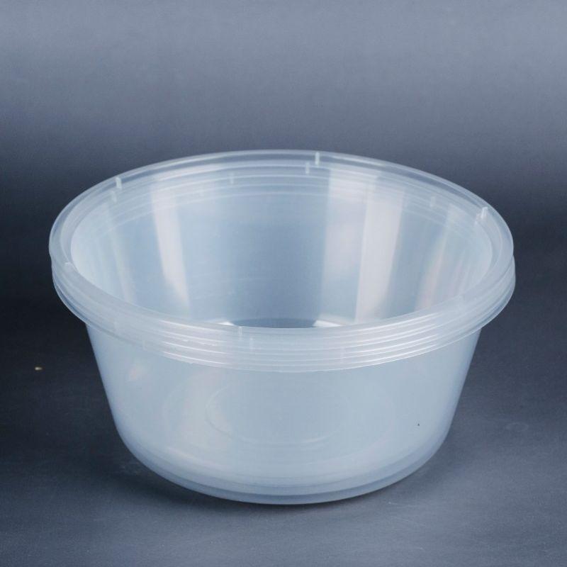 Ningbo xiaoxiang tableware transparent disposable circular fast-food box