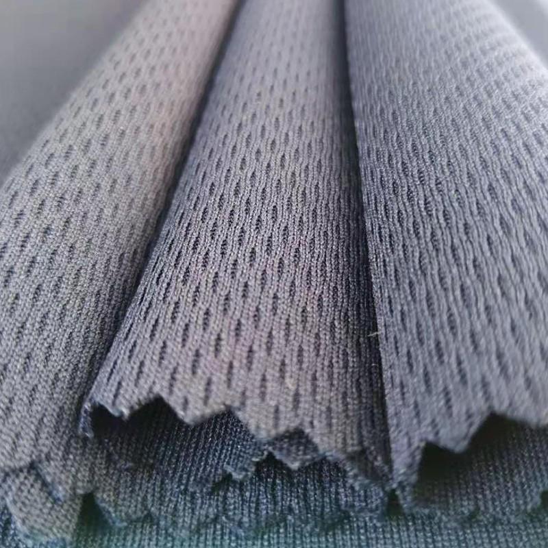 Shaoxing Lvhan Textile Co., Ltd. T-shirts, sportswear and other fabrics level 4 bird's eye