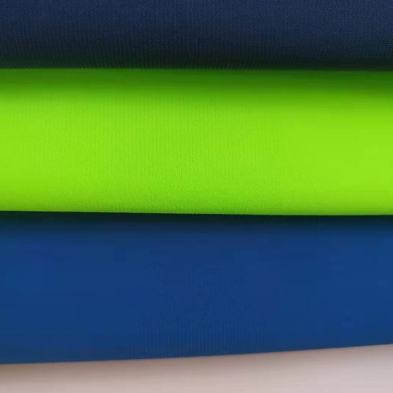 Shaoxing Lvhan Textile Co., Ltd. T shirts, casual sports pants and other fabrics warp knitted horizo