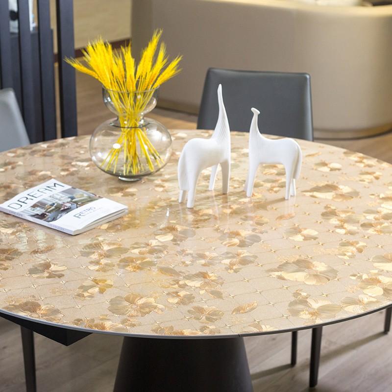 GLXY无味,清雅清新,防水,免熨免洗桌布,桌垫,茶具
