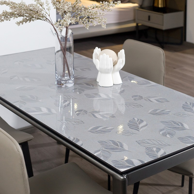 Guanglai star you GLXY pattern tasteless soft glass simple table mat tea table cloth washing waterpr