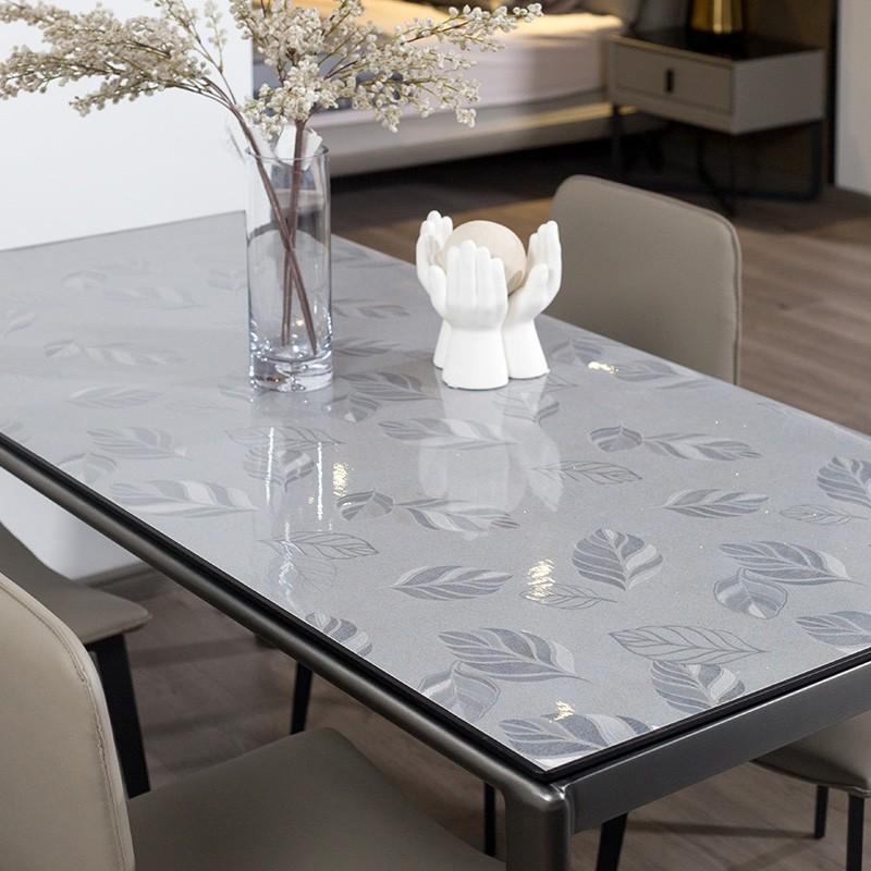广莱星友GLXY图案无味软玻璃简易桌垫茶几布洗脸水