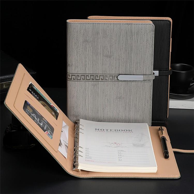 汉德Loopbook Loopbook定制创意商务A5活动会议纪要皮具PU笔记本